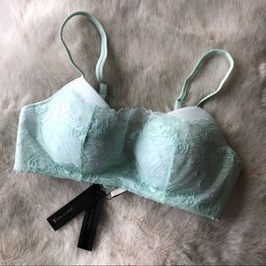 Mint Lace Bra